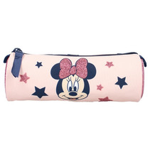 etui Minnie Mouse junior polyester roze 17 cm