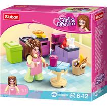 Girls Dream: keuken (M38-B0800B)