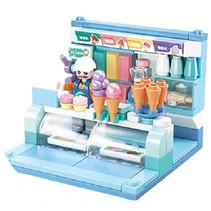 ijswinkel junior 14,6 cm blauw 110-delig