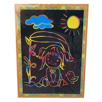 kraskaart natuur junior 13 x 17 cm papier 2-delig