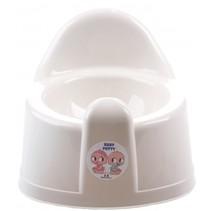 wc-potje babypop 25x15 cm wit