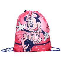 gymtas Minnie Mouse junior polyester roze 1,5 liter