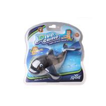badspeelgoed Dive game junior 13 cm kunststof zwart