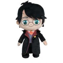 knuffel Harry Potter junior 20 cm polyester zwart