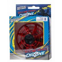 boomerang-drone met USB-oplader rood 2-delig