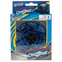 boomerang-drone met USB-oplader blauw 2-delig