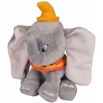 knuffel Disney Dumbo junior 17 cm pluche grijs