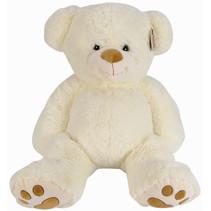 knuffelbeer klassiek junior 41 cm pluche crèmekleurig