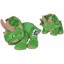 knuffel Jurassic World Bumpy 25 cm pluche groen