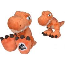 knuffel Jurassic World T-Rex 46 cm pluche oranje