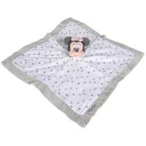 knuffeldoekje Disney Minnie Mouse 40 cm pluche wit
