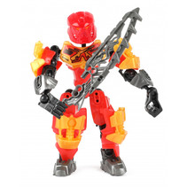 transformer Roboforces Tornado jongens rood/grijs