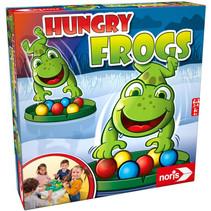 vangspel Hungry Frogs junior 30 cm groen