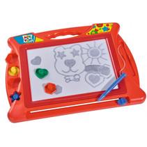 tekenbord magnetisch junior 40 x 29 cm rood