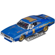 "auto Dodge Charger 500 ""No.1"" 20 x 10 x 13 cm blauw"