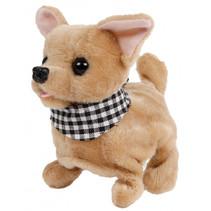 knuffel Chihuahua junior 15,5 cm pluche bruin