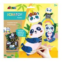 kraskleurplaten Panda junior karton 13-delig