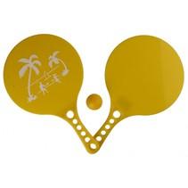 beachball-set Beach Fun 3-delig geel