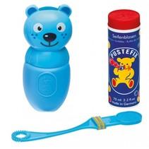 bellenblaasset Bubble-Friends kat 70 ml blauw