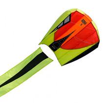 eenlijnsvlieger Bora 5 Blaze 81 cm polyester rood/geel