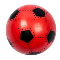voetbal soft junior 16 cm rood