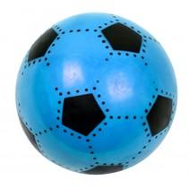 voetbal soft junior 16 cm blauw