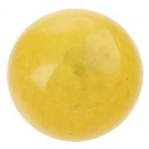 squishy bal met licht geel 70 mm