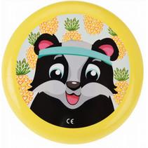 frisbee panda 23 cm geel