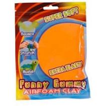 klei Gummy Airfoam junior 55 gram oranje