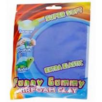 klei Gummy Airfoam junior 55 gram koningsblauw