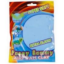 klei Gummy Airfoam junior 55 gram blauw