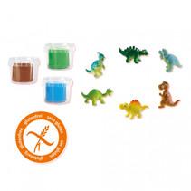speelkoffer Jurassic dino wereld
