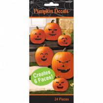 stickervellen Pumpkin 17,5 cm papier oranje 3 stuks