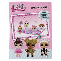 make-a-scene stickerset roze 2-delig