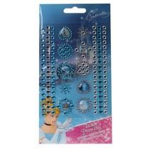 Princess stickers 119 stuks meisjes blauw