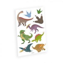 plaktattoos dinosaurus jongens 9 stuks