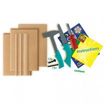 foam hout bouwpakket 6-delig