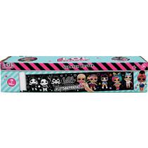 krasposter meisjes 30 x 200 cm karton zwart