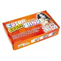 loombox Color Loom Bands met 600 loombandjes