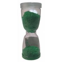 speelzand zandloper junior 14 cm groen