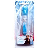 penlamp meisjes 17 cm blauw/wit