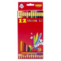 kleurpotloden met gum 12 stuks