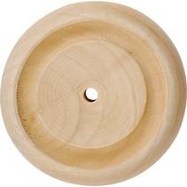 houten knutselset Wielen 30 x 10 mm blank 40 stuks