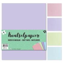 knutselpapier Pastel junior A4 papier 60 vellen