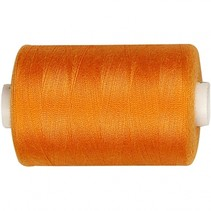 naaigaren polyester oranje 1000 meter