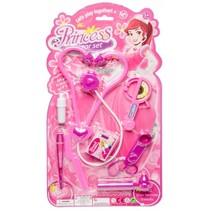 doktersset Princess 8-delig roze