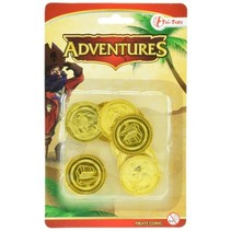 piraten munten goud 3,5 cm