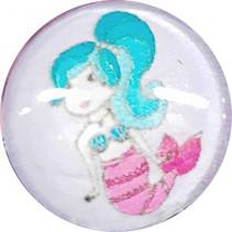 ring Zeemeermin meisjes 1,5 cm lila/roze