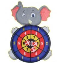 dartspel met ballen olifant 34 cm