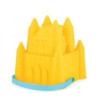 emmer zandkasteel prinses 15,5 x 18 cm geel